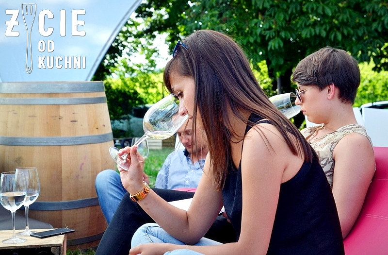 gruzinskie wina, degustacja gruzinskich win, vinisfera, georgian wine agency, malinova, poznaj smak gruzji, kobieta pije wino, zycie od kuchni