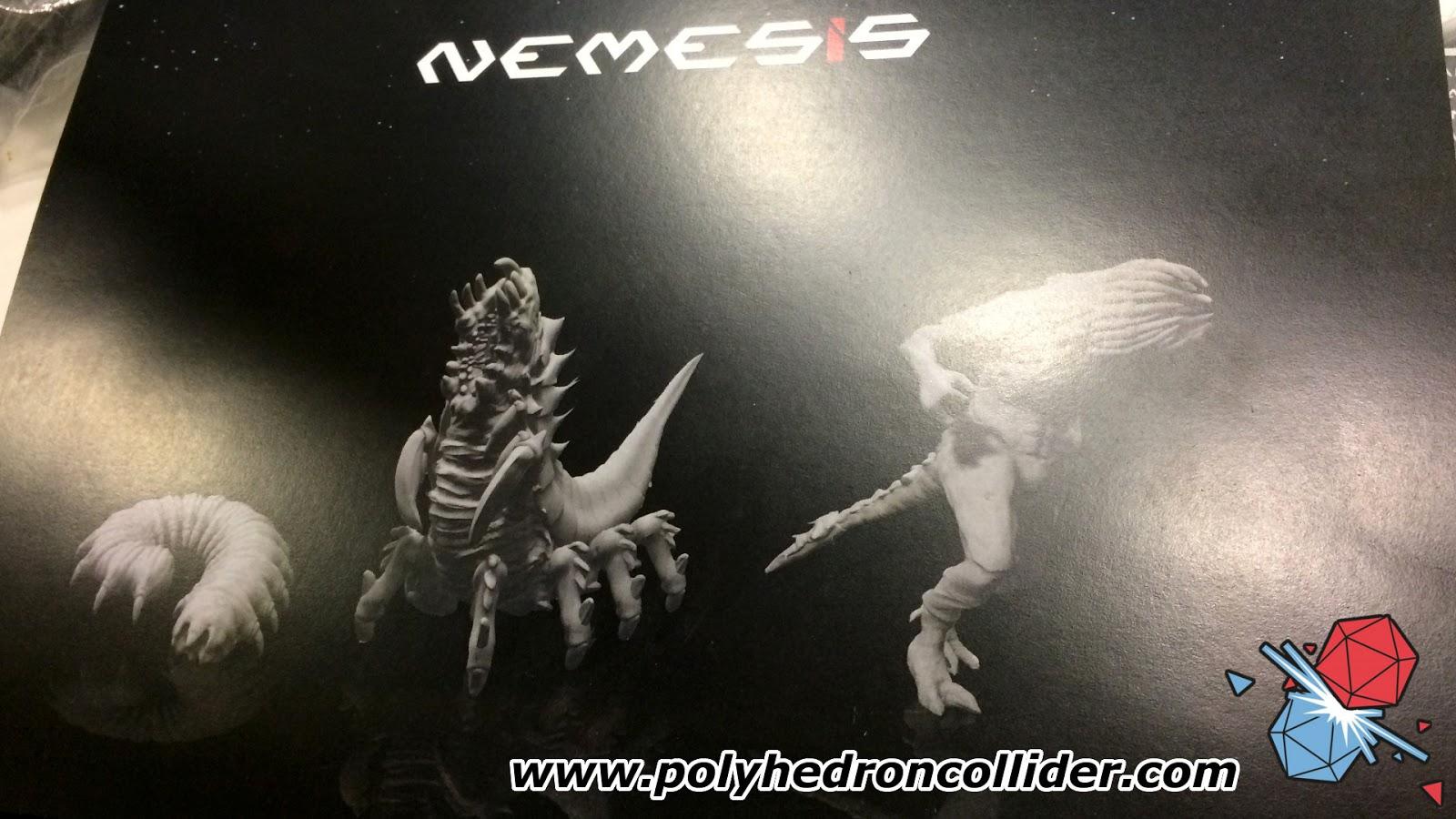 Nemesis alien miniatures