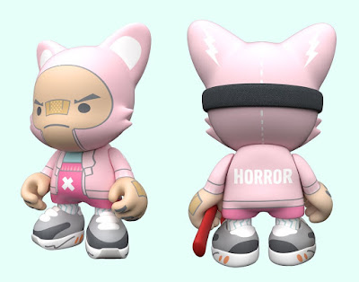 "Fashion Horror SuperJanky 8"" Vinyl Figure by Guggimon x Superplastic"