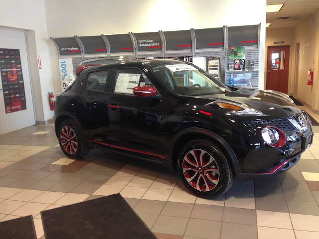 Photo of the Nissan Juke in Inventory at Hoselton Nissan, East Rochester, NY 14445