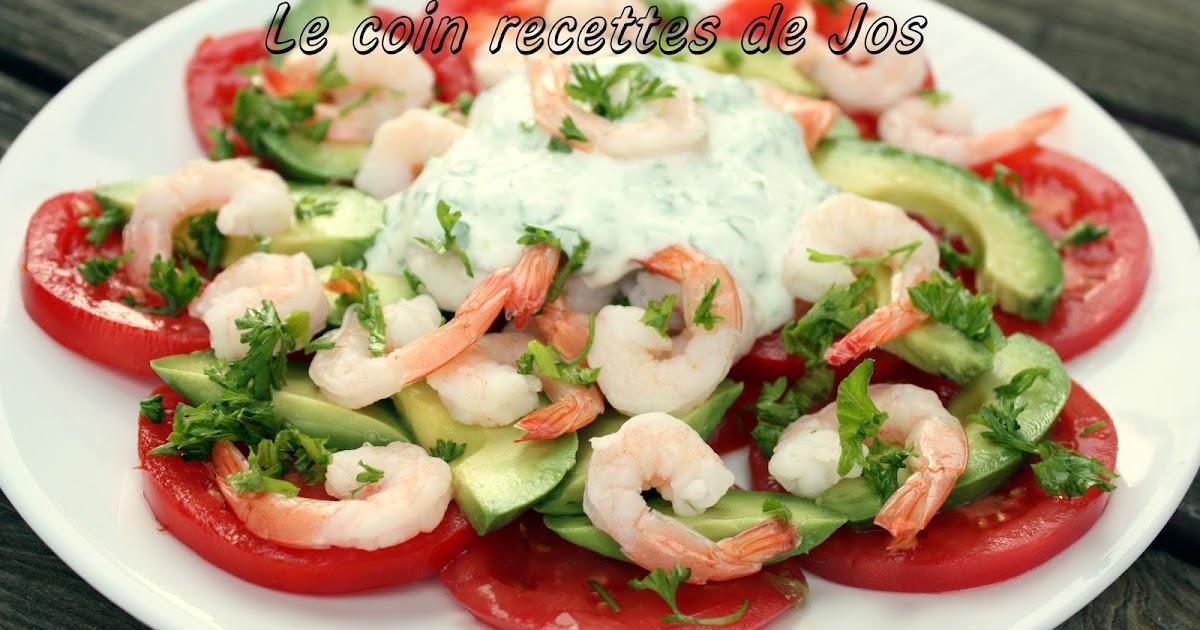 Le coin recettes de jos salade d 39 avocat crevettes et tomates for Eliminer les vers des salades