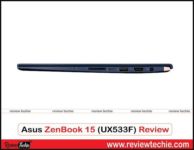 asus zenbook 15 review ux533f