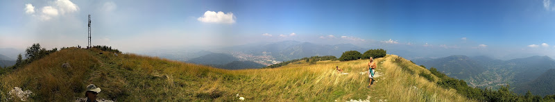 Panorama from Monte Misma