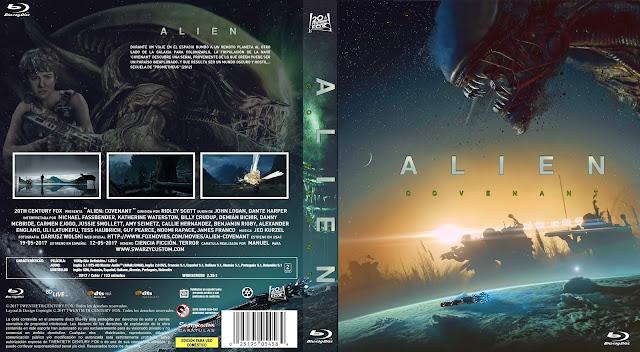 Alien Covenant Bluray Cover