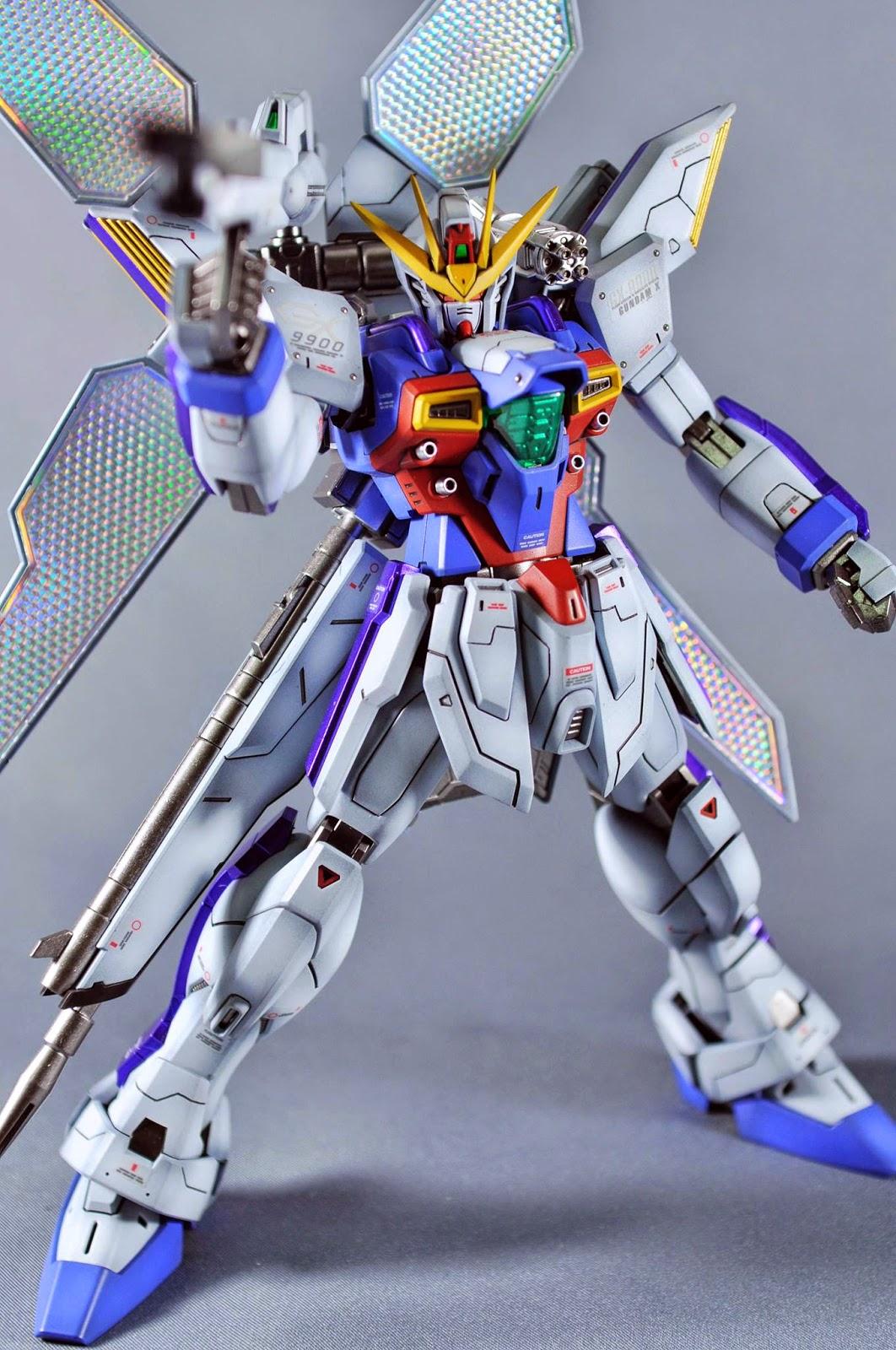 Gundam Guy Mg 1 100 Gx 9900 Gundam X Customized Build