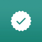 WhatsApp Business verification badge