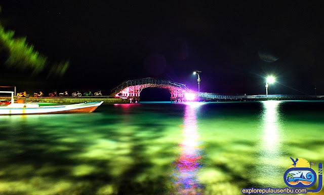 jembatan cinta pulau tidung - wisata pulau tidung