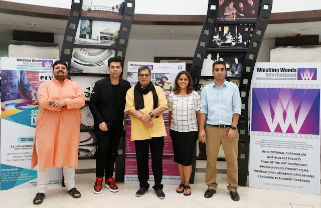 Subhash-Ghai-Karan-Johar-Rahul-Puri-WWI-Whistling-Woods-International-Meghna-Puri-Chaintanya-Chinchilkar-Actor-Hemu-shetty