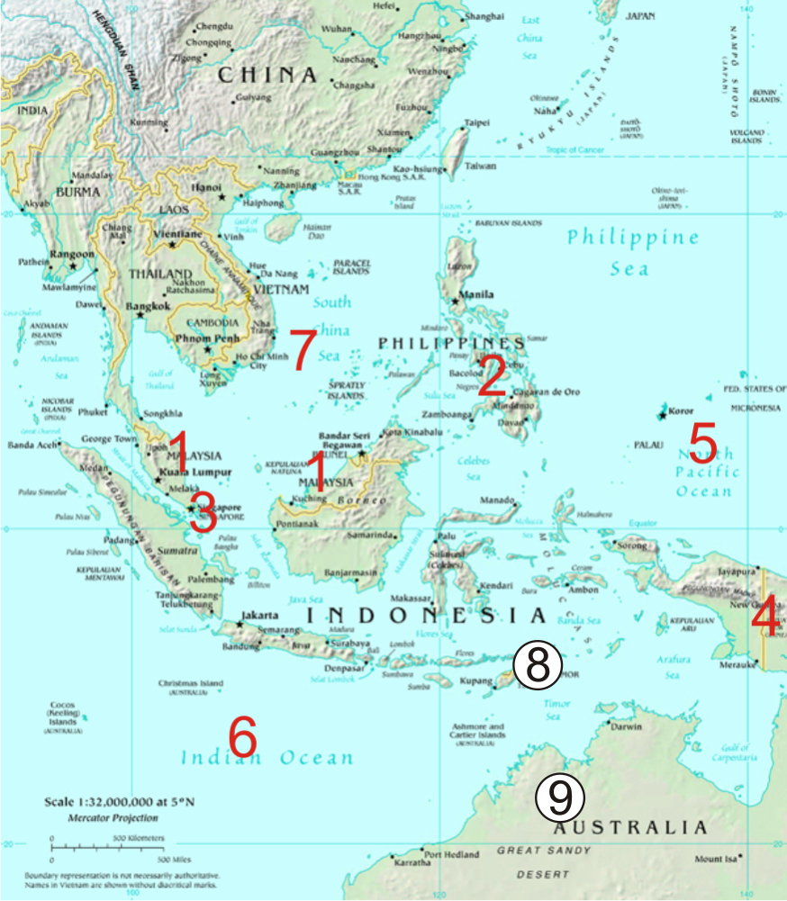 Where is Indonesia ?:Where is indonesia | About Indonesia
