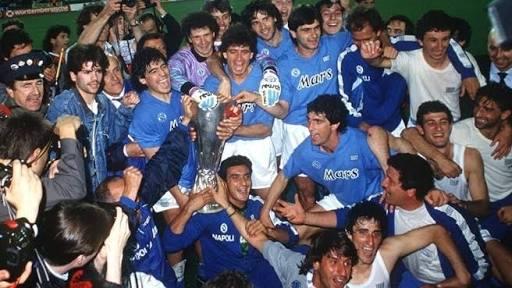 Copa da UEFA 1988-1989 napoli Maradona