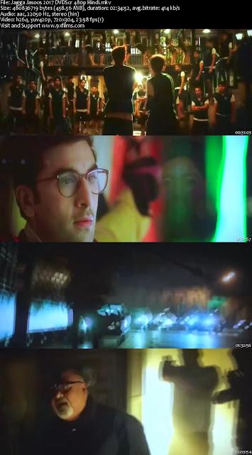 Jagga Jasoos 2017  DVDScr 480p Hindi