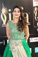 Manjusha in Beautiful Sleeveless Green Anarkali dress at IIFA Utsavam Awards 015.JPG