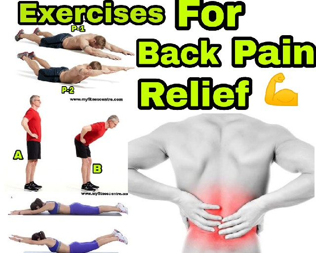 No Equipment Back Exercises