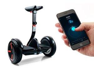 Tinuku Segway miniPRO Listrik Sesuaikan Pengemudi dengan Aplikasi Mobile