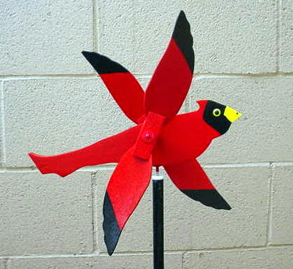 uccello whirligig