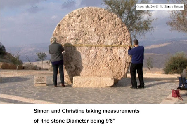 Great stone of Mark 16:4. And Simon Brown.