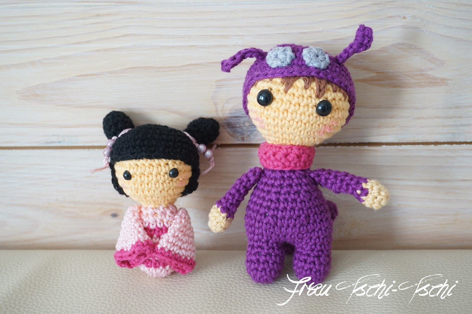 frau tschi tschi amigurumi kokeshi puppe h keln anleitung kostenlos. Black Bedroom Furniture Sets. Home Design Ideas