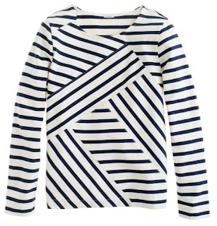 jcrew sailor top shirt