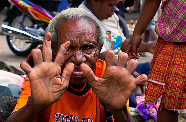 cultura, estranho, bizarro, tribo dani, indonésia