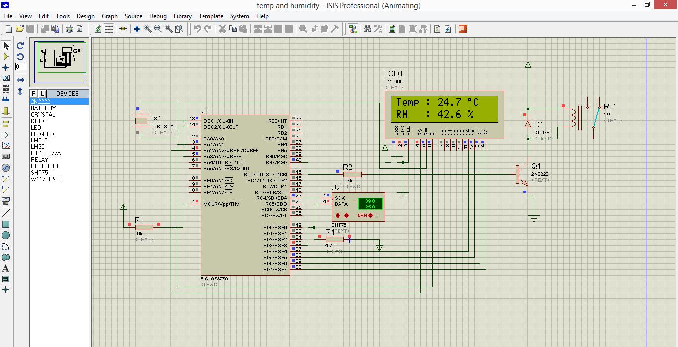 digital voltmeter using 8051 microprocessor