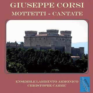 Giuseppe Corsi, Mottetti, Cantate