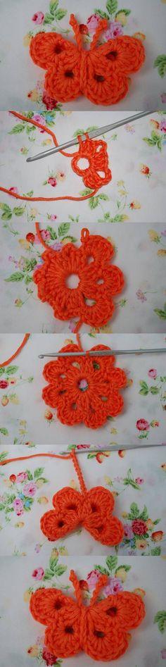 como-tejer-mariposa-crochet