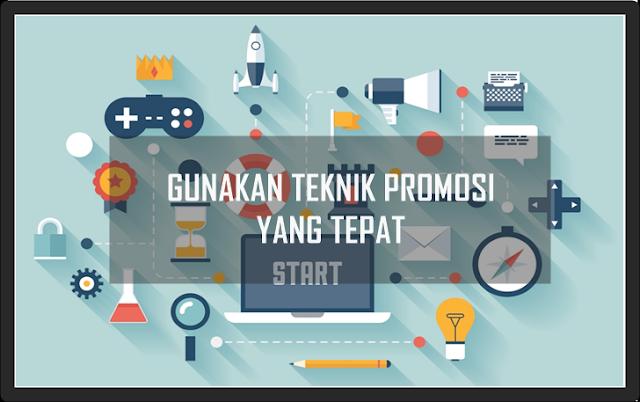 Promosi online dan promosi offline