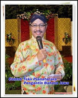 Contoh Teks Pranatacara Adicoro Pengantin Bahasa Jawa