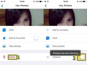 Cara Blokir Kontak IMO di iPhone dan Android Smartphone