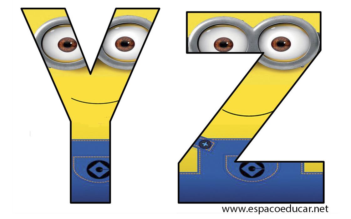 Favoritos Jogo Letras dos Minions - Alfabeto dos Minions grátis para você  MK39