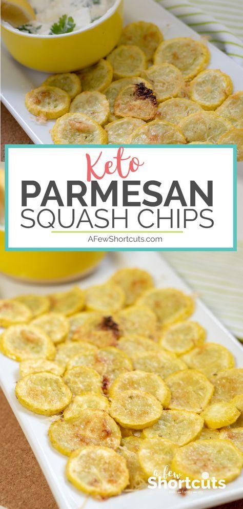 Parmesan Squash Chips Recipe #parmesan #squash #chips #tasty #tastyrecipes #delicious #deliciousrecipes
