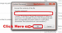 how to protect excel sheet with password in 2010