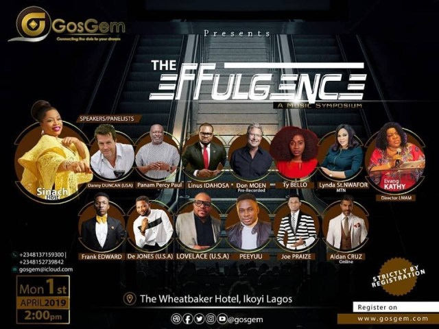 Sinach Set To Host International Music Mentorship platform (GosGem) in Nigeria