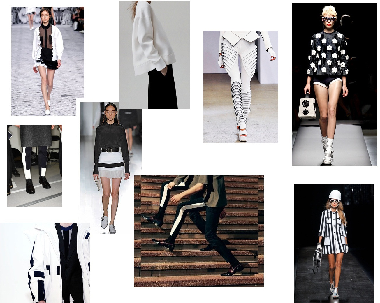 NEON THOUGHTS : TREND :MONOCHROME, SIMPLICITY NEVER LOOK