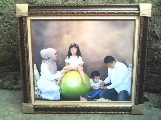 foto frame keluarga