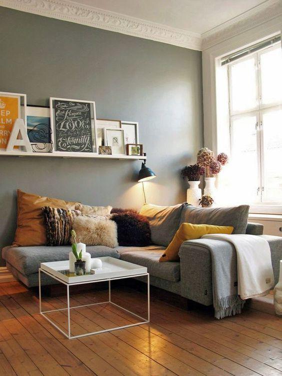 deco salon cosy gris. Black Bedroom Furniture Sets. Home Design Ideas