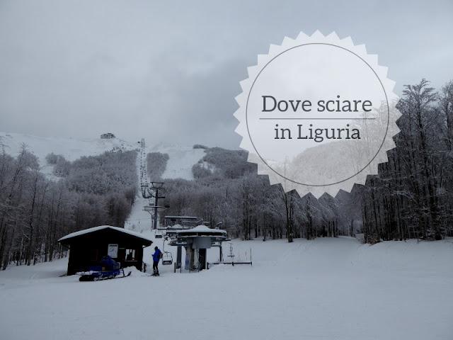 Dove sciare in Liguria: i due comprensori sciistici. La funivia di Santo Stefano d'Aveto