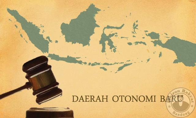 18 Daerah Otonom Baru dari Jawa Barat