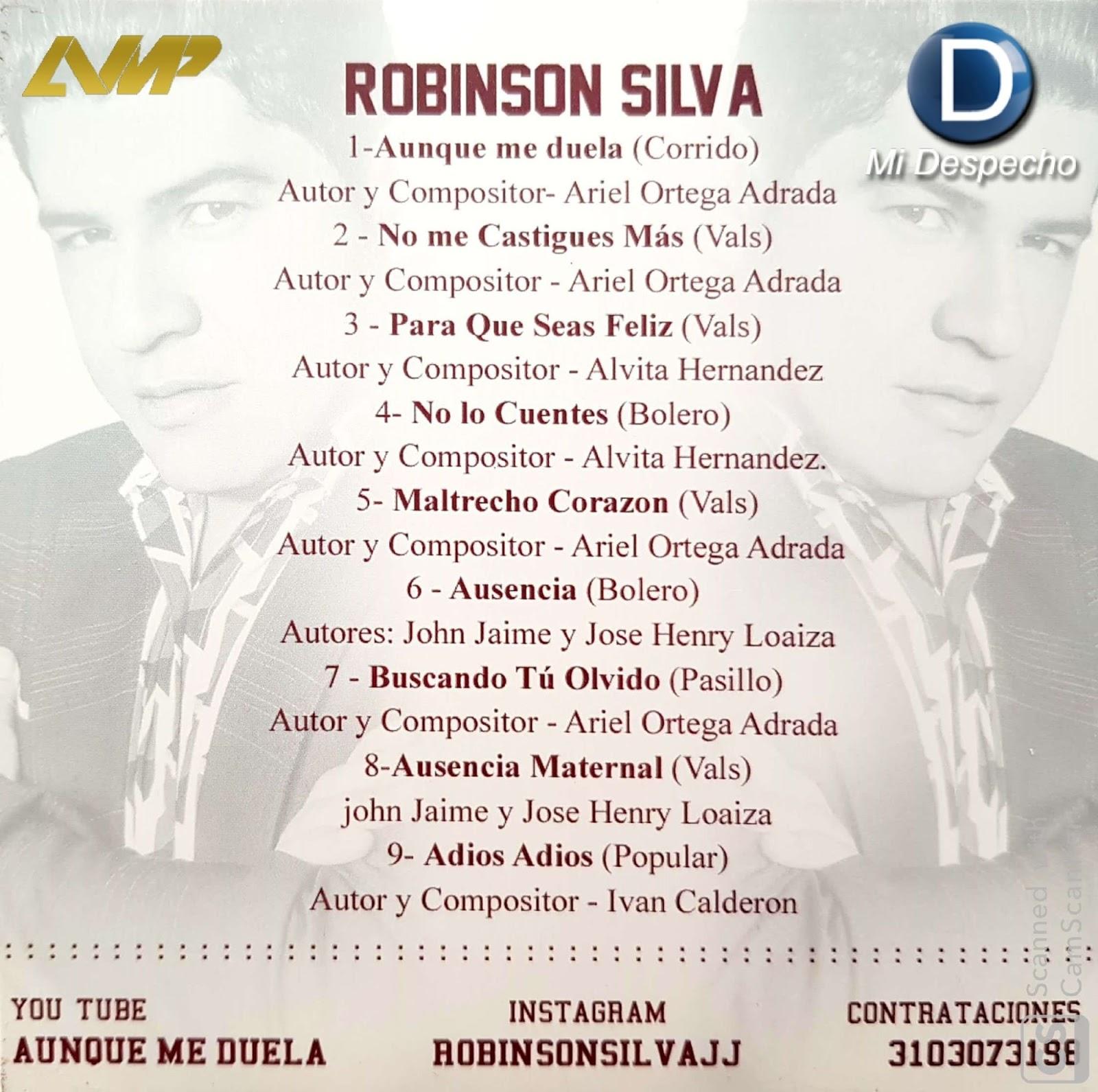 Robinson Silva Aunque Me Duela Trasera