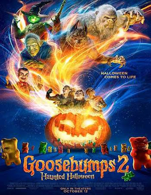 Goosebumps 2 Haunted Halloween 2018 Hindi Dual Audio 450MB HEVC