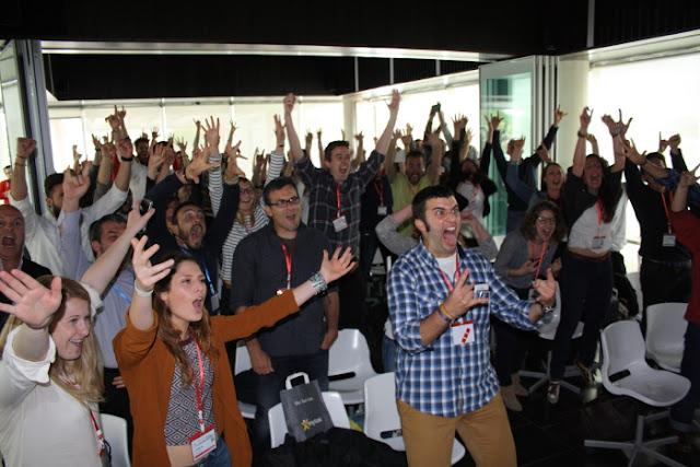 Participantes en la II Startup Weekend de Gastronomía y Turismo de Sevilla