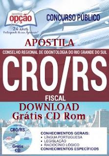 Apostila Conselho Regional de Odontologia RS - CRORS (PDF).