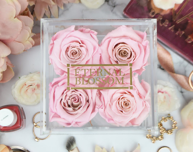 Valentines with Prezzybox - Gift Ideas for Her. 1 Year Roses Makeup Storage Box Review, Lovelaughslipstick Blog