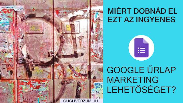 Így használd a Google Űrlap megerősítő üzenetét hatásos marketing eszközként!