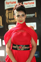 Apoorva in a Stunning Tight Leg Split Sleeveless Red Gown at IIFA Utsavam Awards 39.JPG