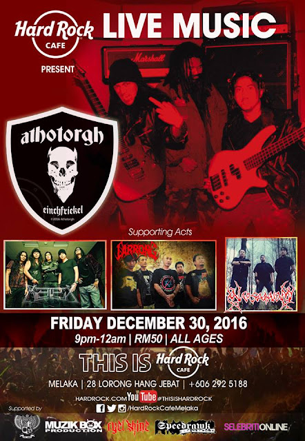 Event Althotorgh Live Hard Rock | 30 Disember 2016
