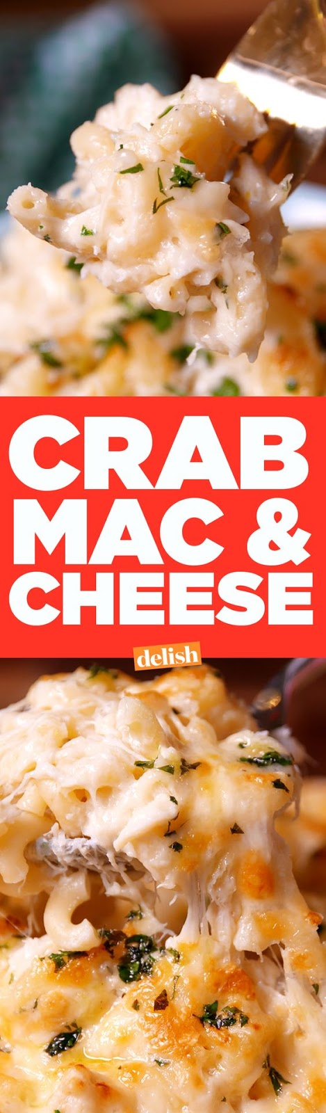 ★★★★☆ 7561 ratings | Crab Mac & Cheese #HEALTHYFOOD #EASYRECIPES #DINNER #LAUCH #DELICIOUS #EASY #HOLIDAYS #RECIPE #Crab #Mac #Cheese