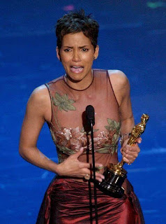 Academy award winning actress Halle Berry