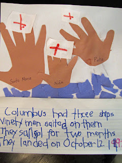 Christopher Columbus Learning Activity for Kids