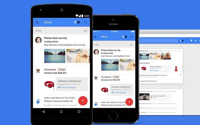جوجل ستقوم بإغلاق تطبيق البريد الإكتروني google inbox يوم 2 إبريل